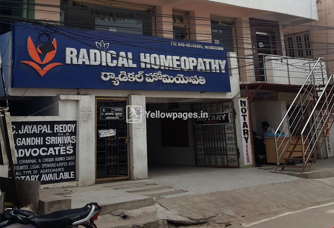 Radical Homeopathy in Kukatpally, Hyderabad, 500072